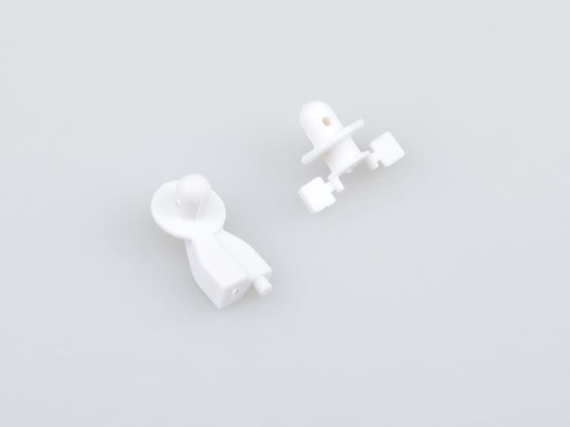 Picture of THE JQRacing White Body Mount Set