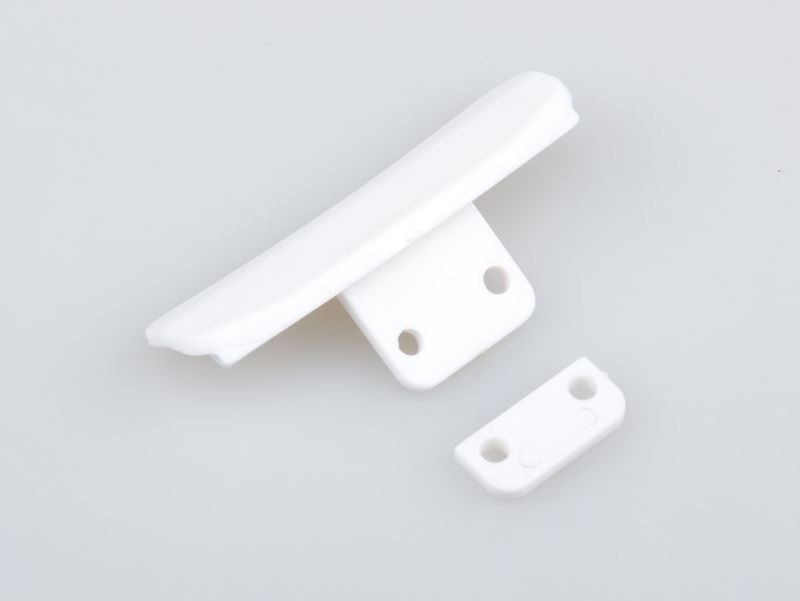 Picture of THE JQRacing White Bumper Set