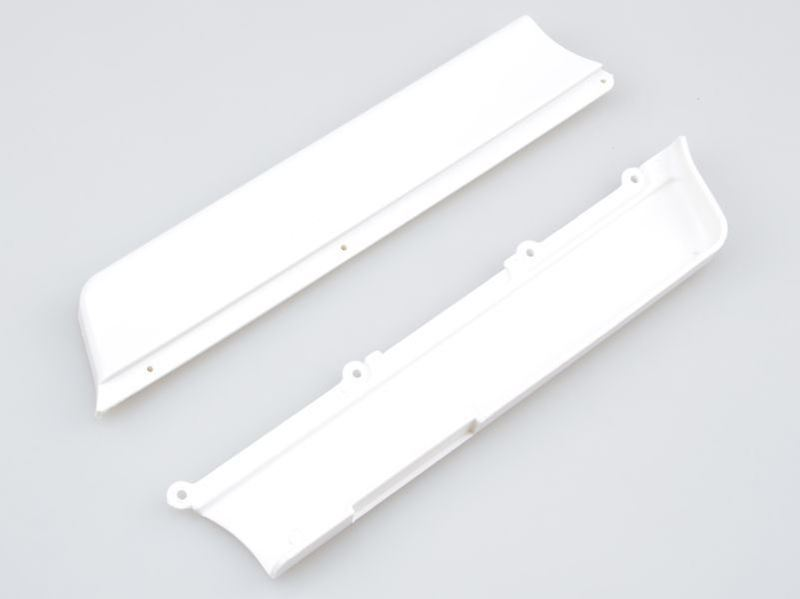 Picture of THE JQRacing White Flex Chassis Side Guards
