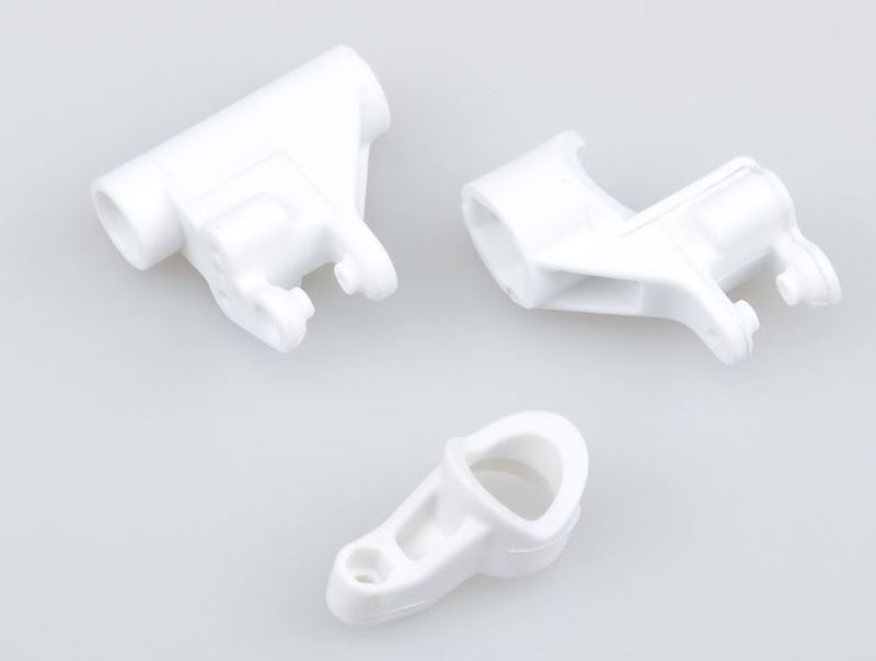 Picture of THE JQRacing White Plastic Steering Part Set
