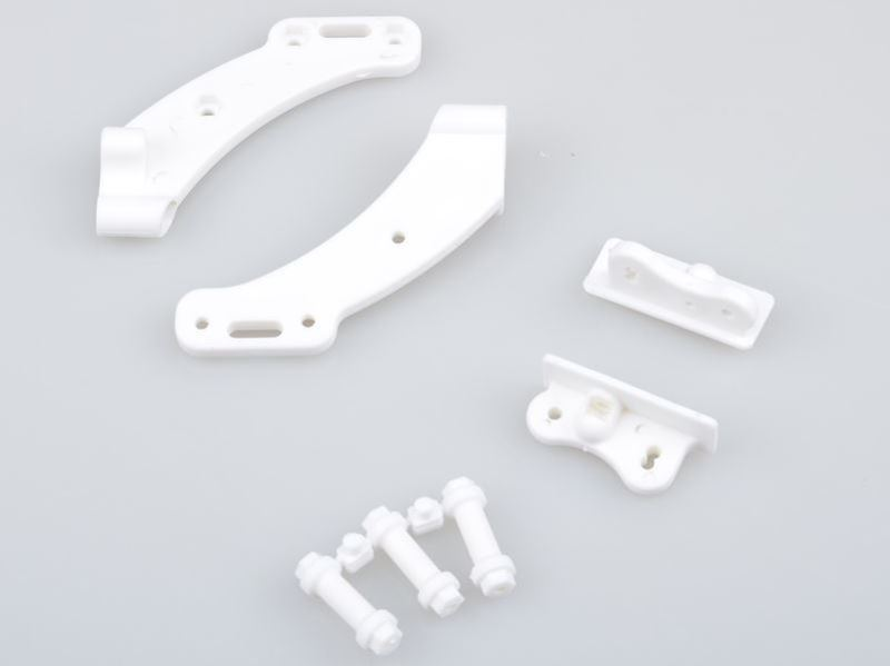 Picture of THE JQRacing White Wing Mount  Set