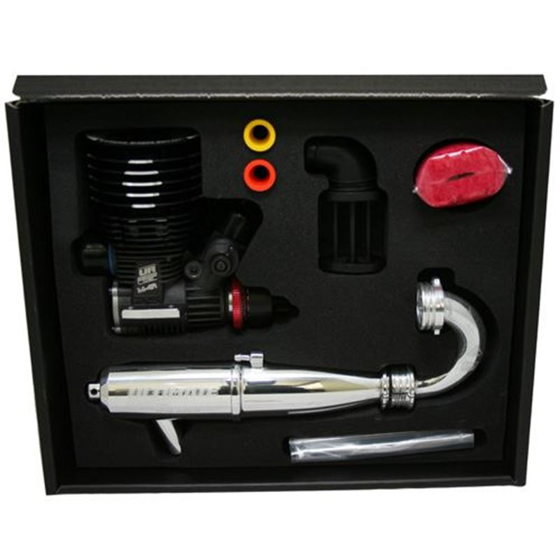 Picture of Ultimate Engines M-4RZ Competition Nitro Engine Combo Pack (Ceramic Bearings)