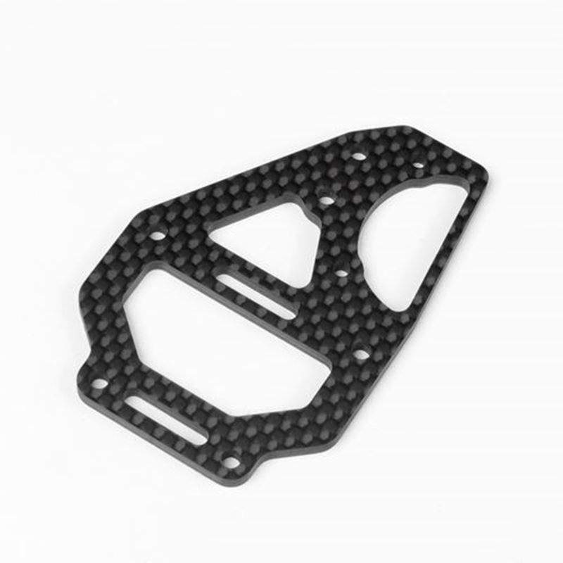 Picture of Tekno RC Carbon Fiber Center Differential Top Plate & Fan Mount (EB410)